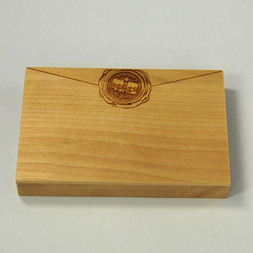 Card Chest sealing wax