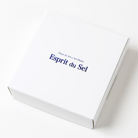 フランス Re島の塩キャラメルとフルール・ド・セル(塩の花)のセット