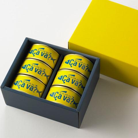 サヴァ缶 6缶化粧箱入り
