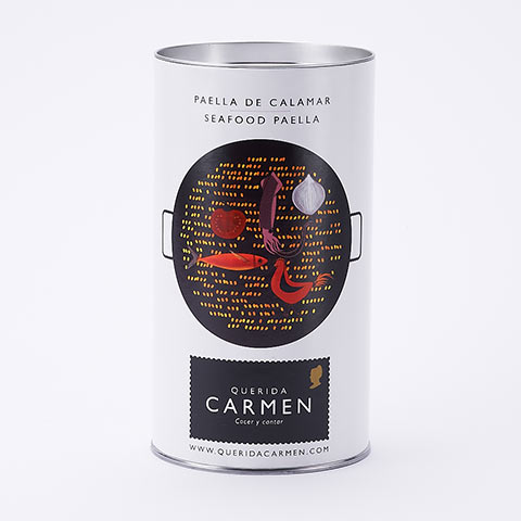 ケリーダ カルメン イカのパエリア缶