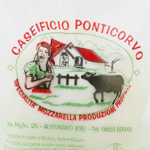 ポンティコルヴォ 水牛モッツァレラ 125g×2個