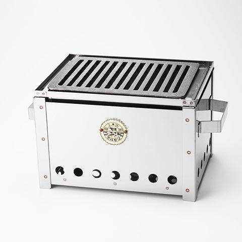 『炭火焼肉ゆうじ』オリジナル炭火ロースター 東京カレンダー限定キット