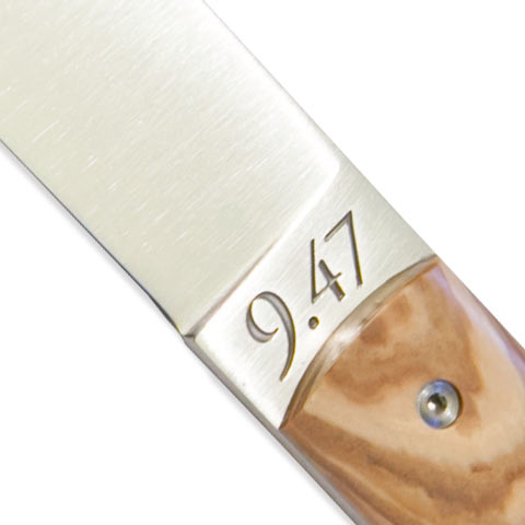 Perceval テーブルナイフ「9.47」2本セット(オリーブ)