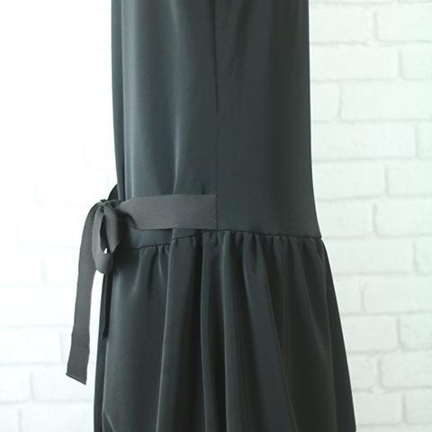 ソフィエのオリジナル授乳服 バルーンワンピース ブラック
