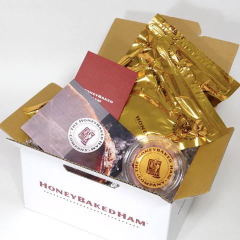 HoneyBaked Ham(R) 厳選・ボーンイン(骨付)センターカット スライスパック2個