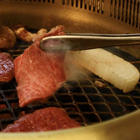 『格之進』門崎熟成肉 焼肉セット(カルビ&モモ)