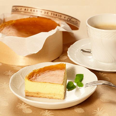 『AU GAMIN DE TOKIO /オー・ギャマン・ド・トキオ』  プレミアムチーズケーキ