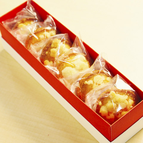 『オー・ギャマン・ド・トキオ』   トリュフ薫るバターケック (6個入)