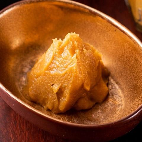『神楽坂 創彩割烹 清水』肉味噌と柚子味噌(二種セット)