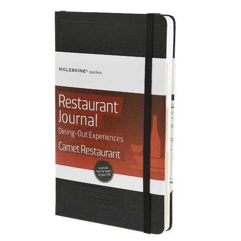 モレスキン パッションジャーナル  レストラン