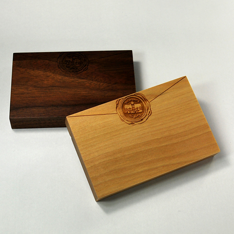 Card Chest sealing wax