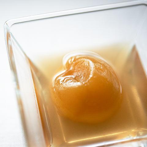 香梅鈴 5個入りセット 青梅とブルーアガべシロップの甘露煮