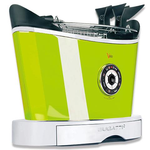 BUGATTI  ITALY  トースター VOLO グリーン