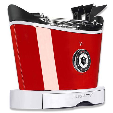 BUGATTI  ITALY  トースター VOLO レッド