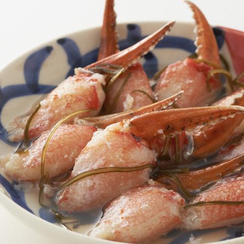かに物語 Deep Sea Red Crab 4種のほろ酔い蟹セット