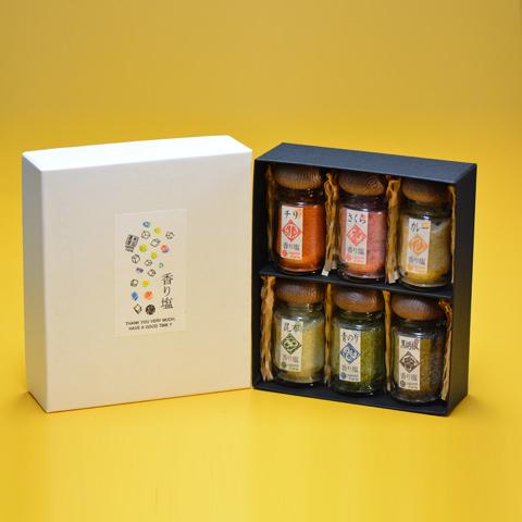 前田農園 6種の香り塩