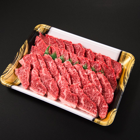 『格之進』門崎熟成肉 焼肉セット(カルビ&モモ)
