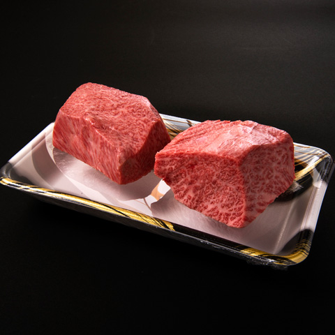 『格之進』門崎熟成肉 塊焼き(霜降り:120g×2)