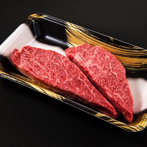 『格之進』門崎熟成肉 特選モモ ステーキ