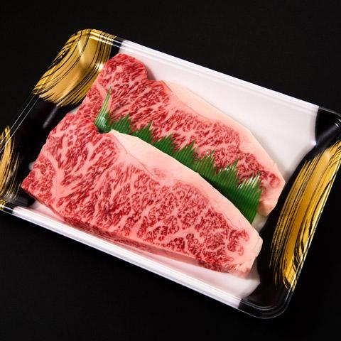 『格之進』門崎熟成肉特選ロース ステーキ