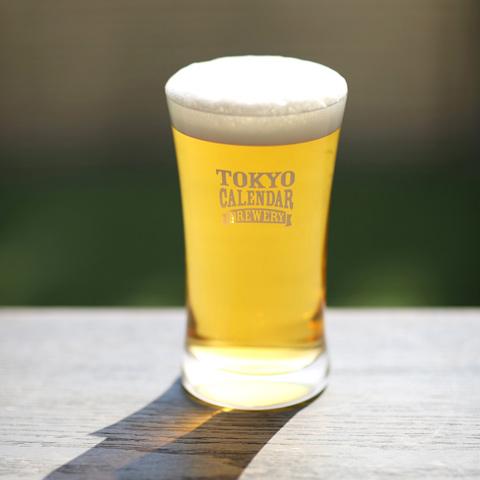 東京カレンダー オリジナル・ビアグラス (ダブル)
