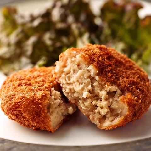 『格之進』金格ハンバーグコロッケと格之進牛醤肉饅頭セット