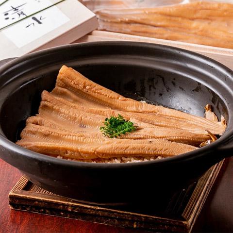 『神楽坂 創彩割烹 清水』煮穴子炊き込み飯セット